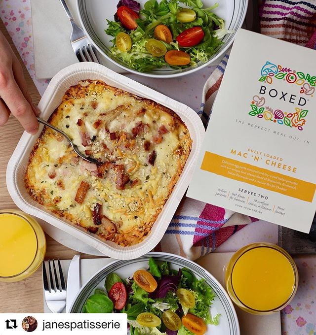 Thanks for sharing your Mac n Cheese lovin @janespatisserie, so happy you loved your first BOXED experience. 🧀 #Repost ・・・ We all know I adore Mac n Cheese right..?! But sometimes I just want a delicious and easy meal, such as the @EatBoxed premium Mac 'N' Cheese 😍🧀 They offer DELICIOUS and amazing quality ready meals, that are frozen fresh! I mean come on, just look at that cheese! Can't wait to try some of the others especially as for a limited time they're currently £2 off at Tesco!! ❤️🤤 #EatBoxed #ad