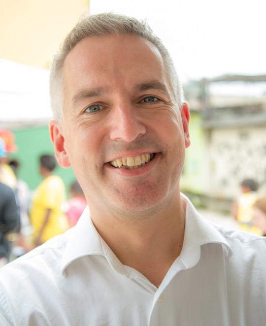 Jonathan Douglas, Director of the National Literacy Trust