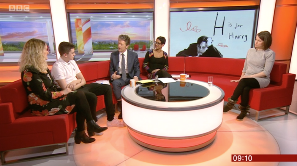 Live on BBC Breakfast, 7th March