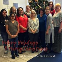 Happy Holidays from the Bastrop Public Library Staff!