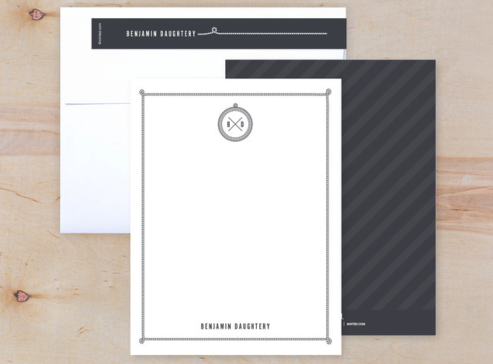Knotical Notes Personalized Stationary Set