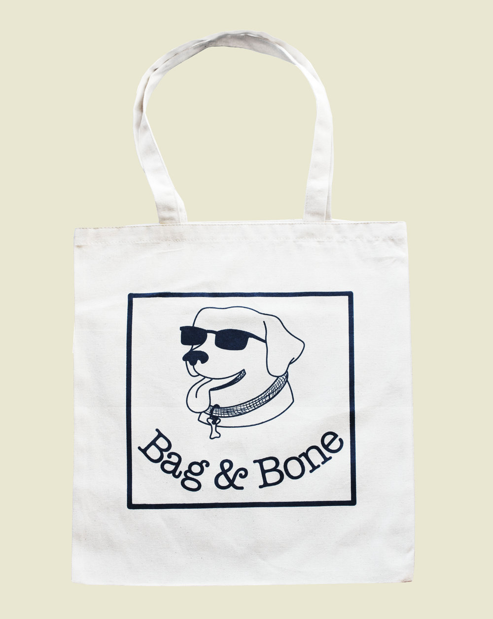 Limited edition Tote Bags with a Bag&Bone logo are also available.