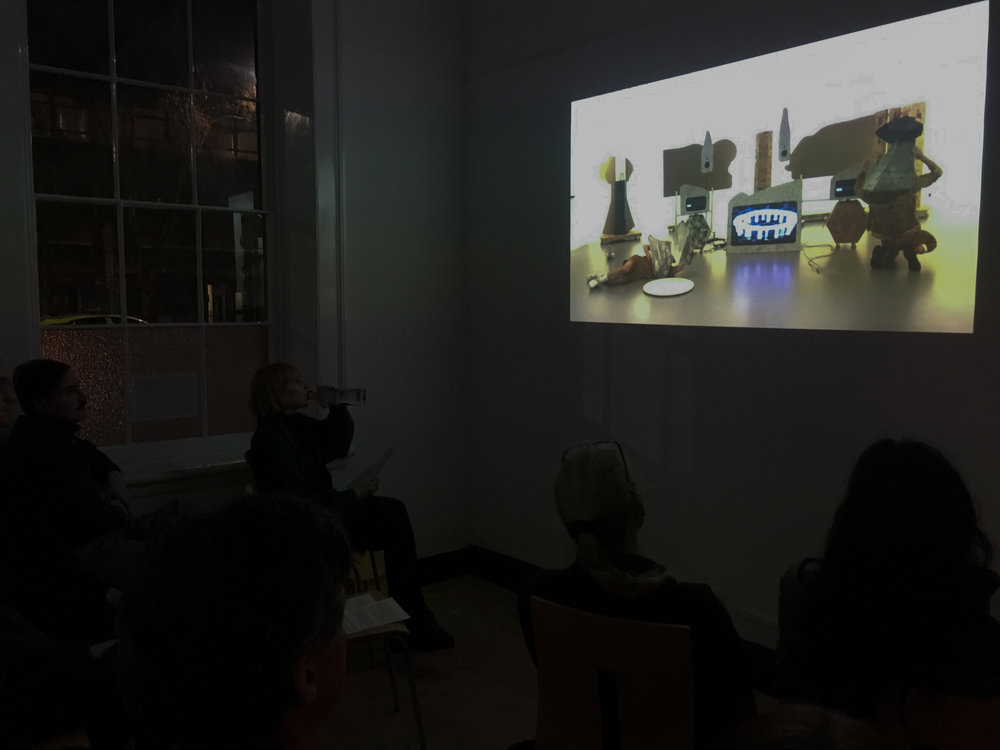 Wandering Monument (rehearsal) or 21 minutes for 21st century, Rafal Zajko