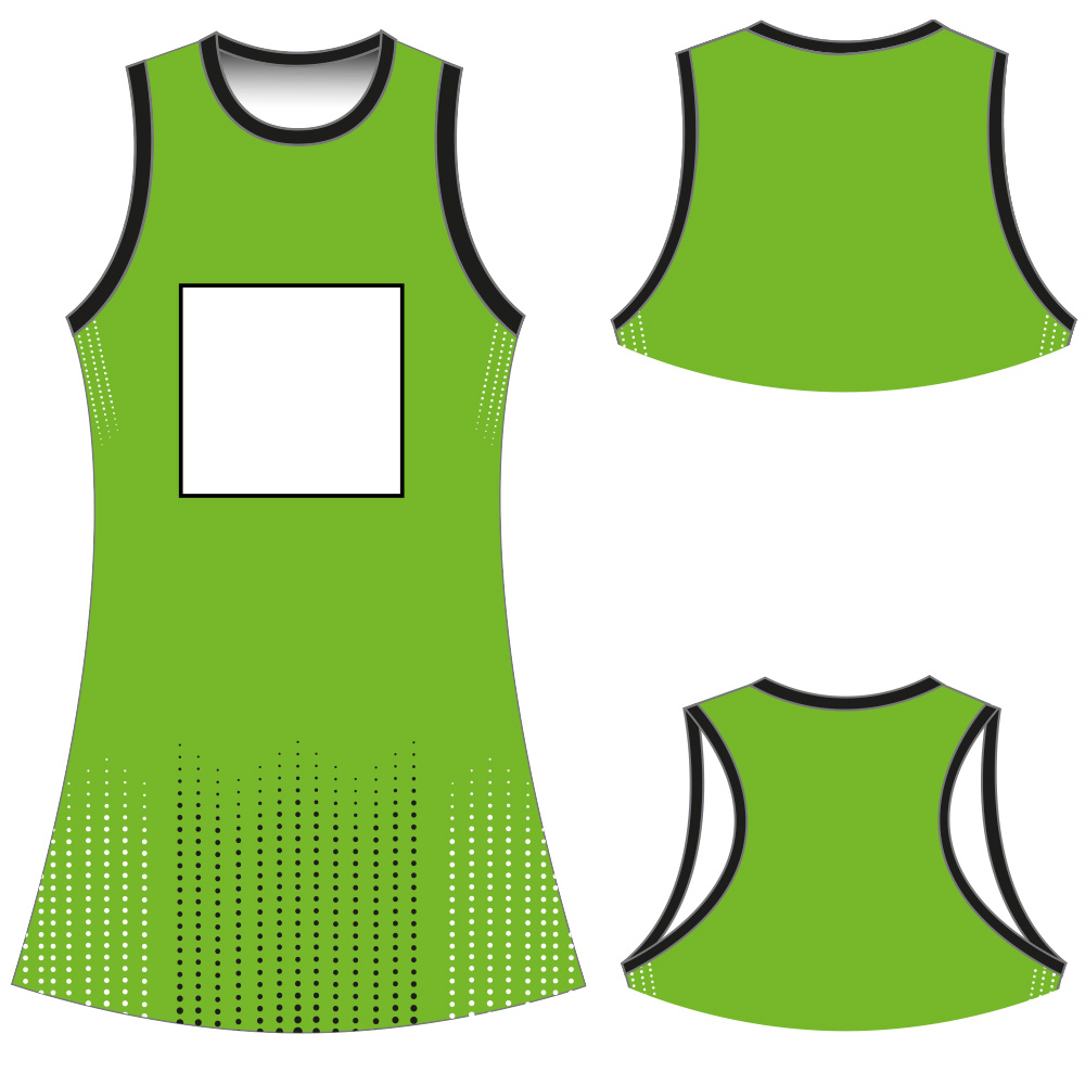 NETBALL DRESS Y50008 - ROUND NECK
