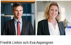 Fredrik Linton och Eva Aspengren