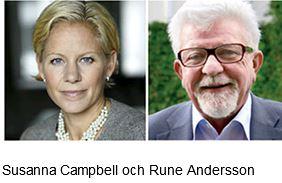 Susanna Campbell och Rune Andersson