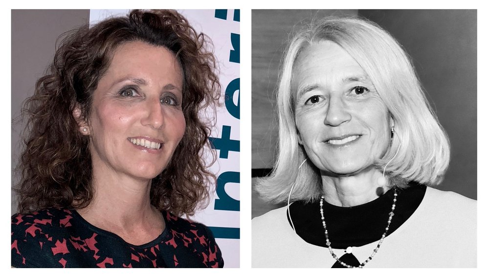 Andrea Gisle Joosen (styrelseproffs) & Gunilla Asker (flertalet styrelser samt tidigare VD SvD)