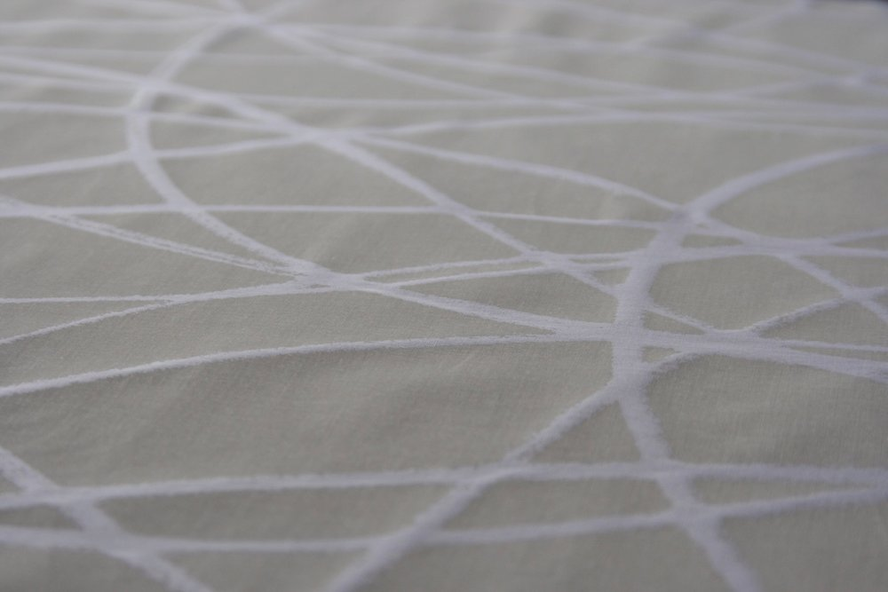 Entwine   Screen hand printed Swiss Cotton
