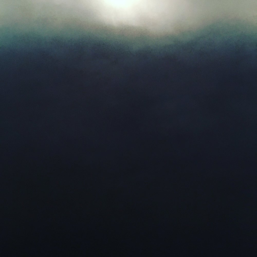 Moon   Photo study, moon through clouds, August, Pyrenees Oriental, 2016