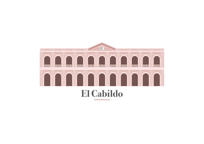 Ilustración Vectorial - El cabildo