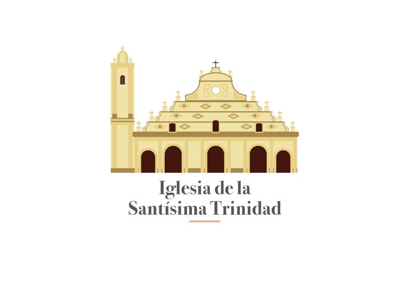 Ilustración Vectorial - Iglesia de la Santísima Trinidad