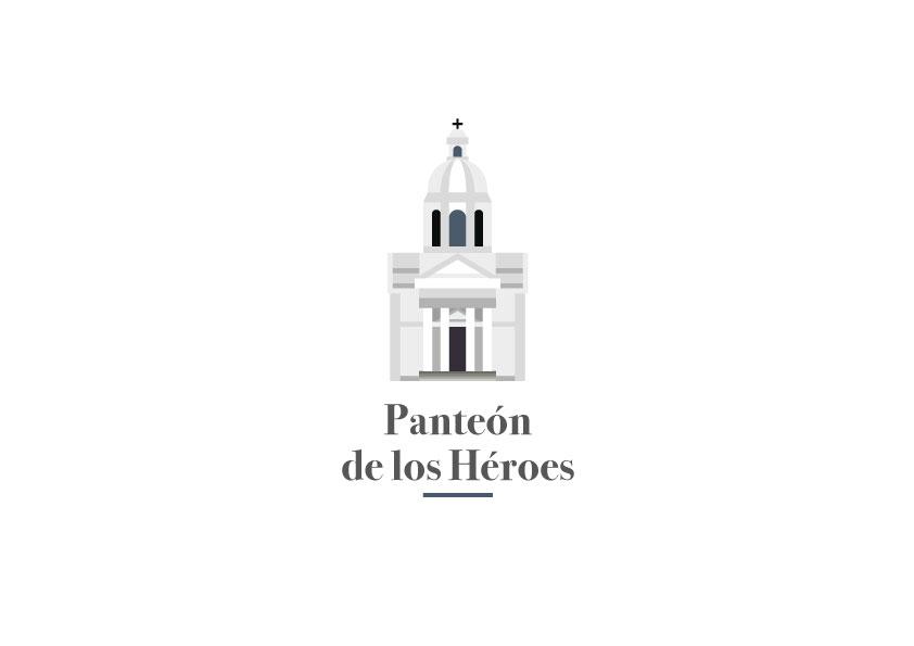 Ilustración Vectorial - Panteón de los Héroes