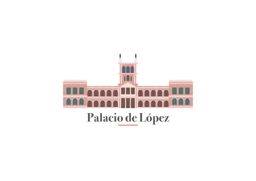 Ilustración Vectorial - Palacio de López