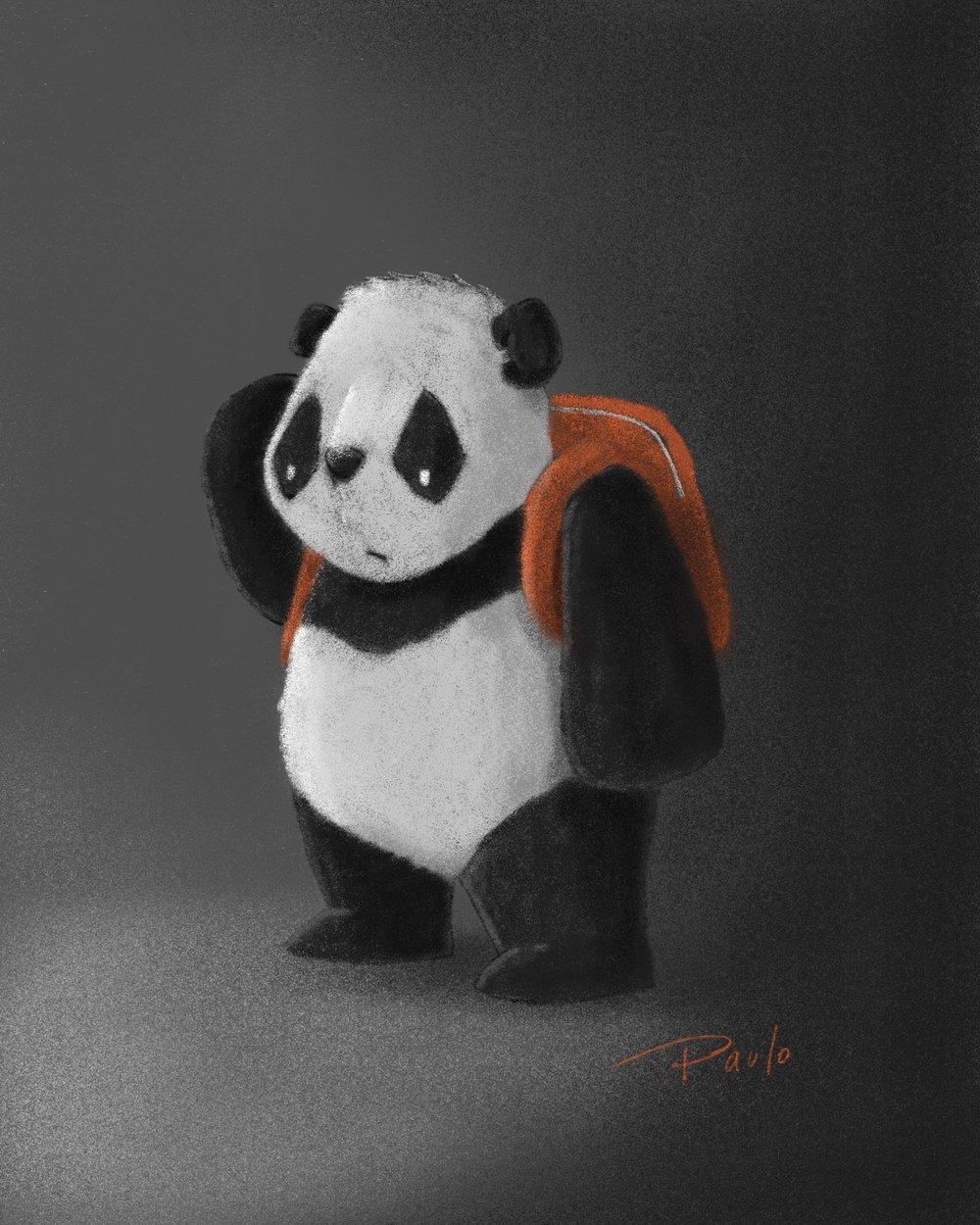 El panda Bei