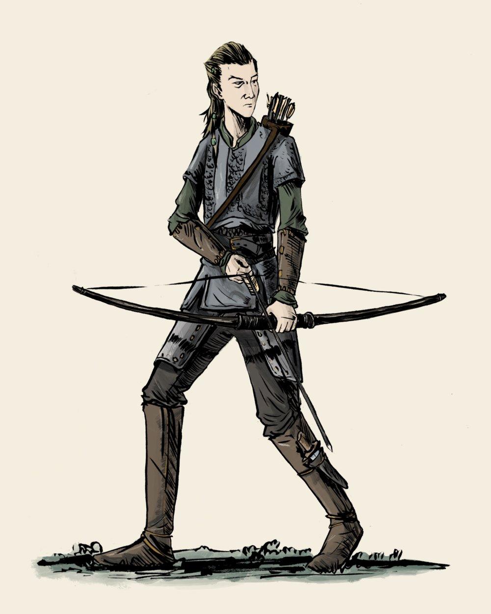 Vikingos - El Arquero