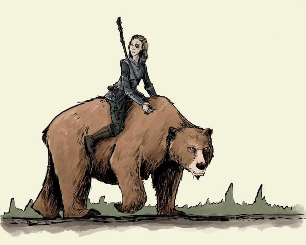 Vikingos - La cazadora