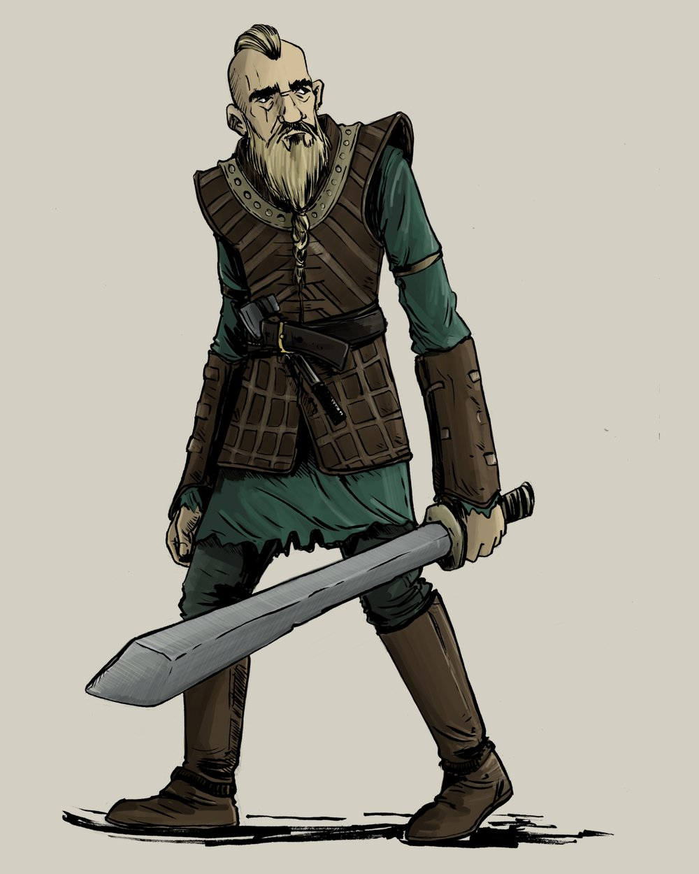 Vikingos - Guerrero