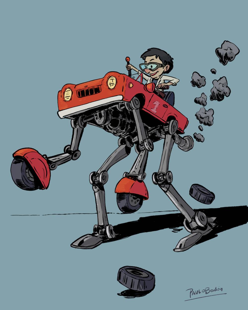 Arte Personal - Robot Car