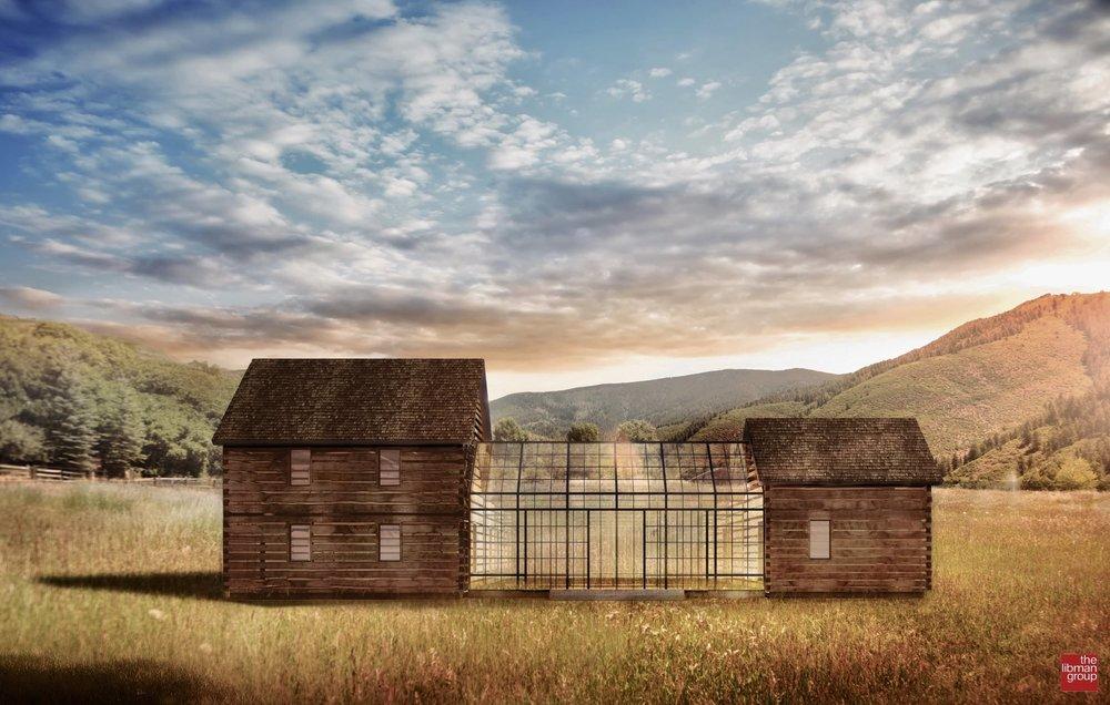old hill barn