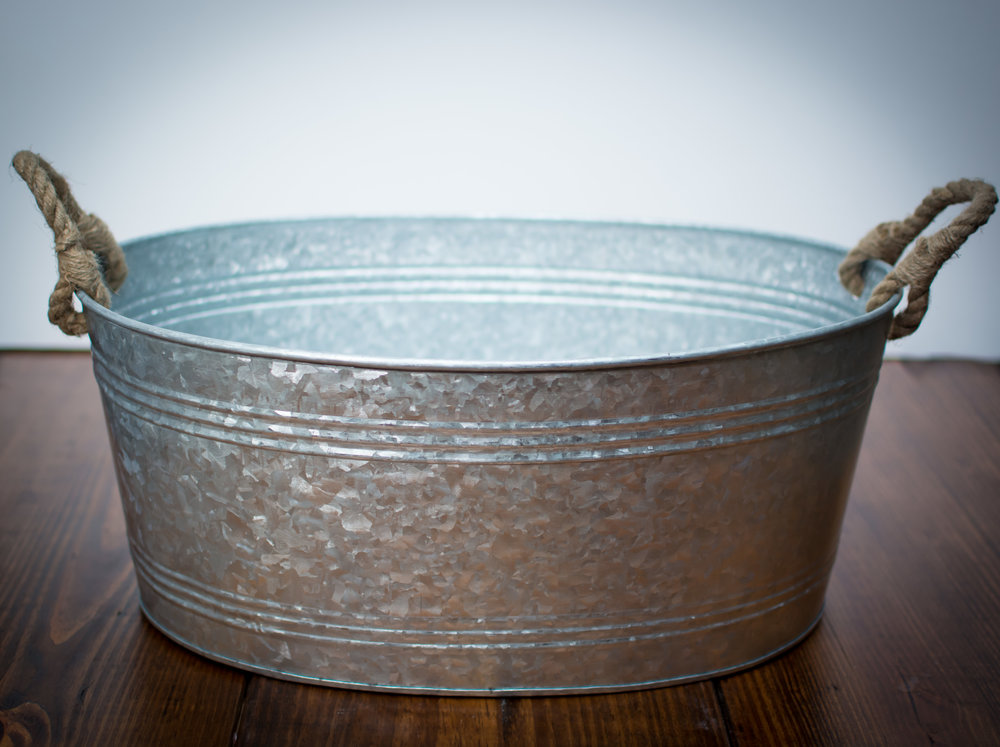 Large size steel beverage tub   Price: $12.00 Each  Quantity Available: 2