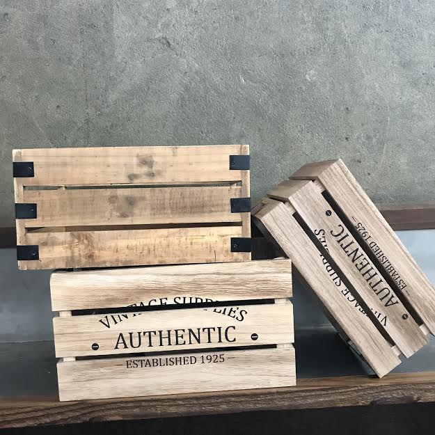 Wooden Crates   PriCe: $5.00 per crate  *Inquire about quantity and AVAILABILTY