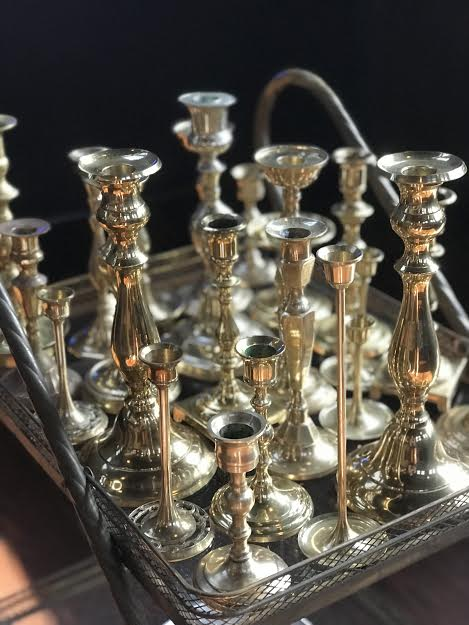 Gold and Brass CandleSticks   Price: 1.50  Quantity Available: 150