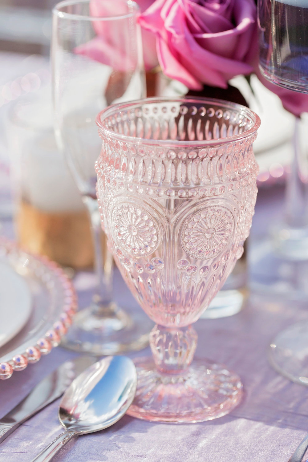 Blush Goblet   Price: $1.75  Quantity Available: 100
