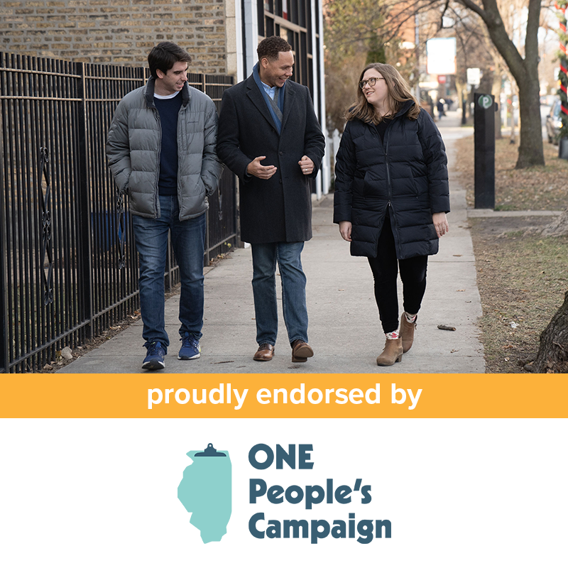 one peoples campaign endorsement