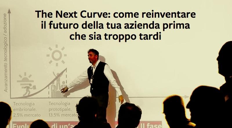 thenextcurve.co    Il workshop che ti insegna a cogliere le opportunità offerte dall'innovazione