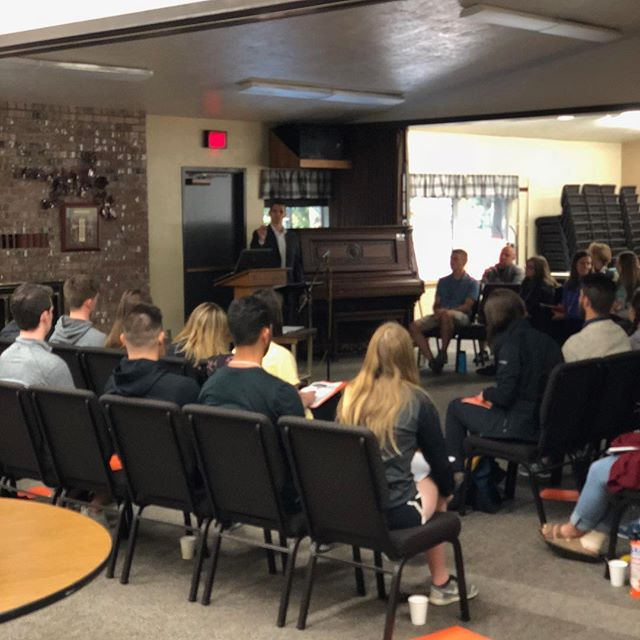 Huge blessing to go back to my roots to speak to @oregonstate student employees at Dixon Recreation Center. These young leaders are going to impact the world in ways we can't even imagine! #optimalimpact #impactmatters #impactnow #blessed