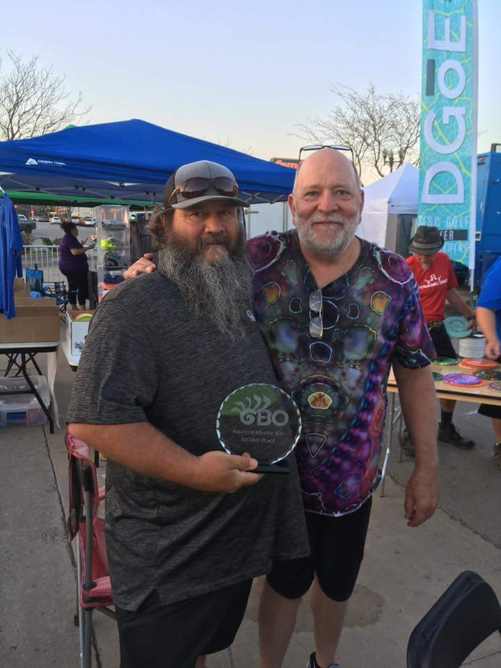 Team Cedar Creek's Sam Dodd Jr. & Jeff Ash of Brainwave Disc