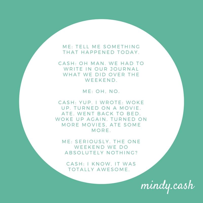 Lazy — mindy+cash