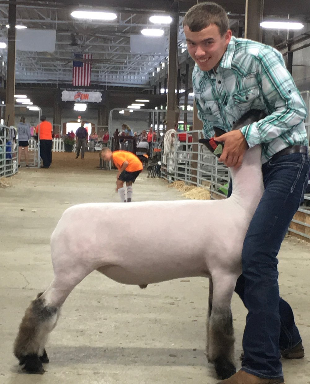 3rd in Class - @ Ohio State Fair 2017131 lb crossbred class open & junior showShown by: Davis Will