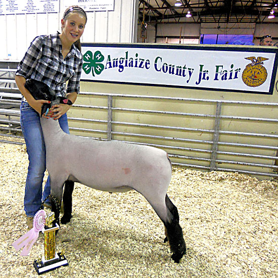 Reserve champion - @ Auglaize County Fair 2011