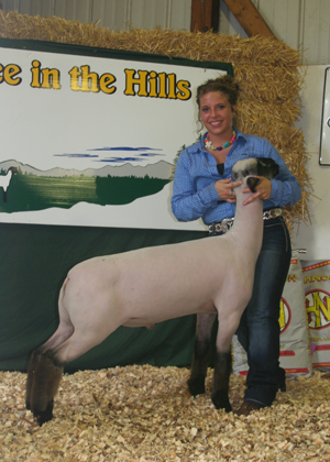 Grand Champion - @ Lamboree in the Hills Jackpot Show 2011