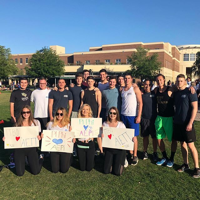 Thank you to @pibetaphiucf for the amazing philanthropy event! All the brothers of AEPI had a great time! Looking forward to participating in years coming! Go literacy!