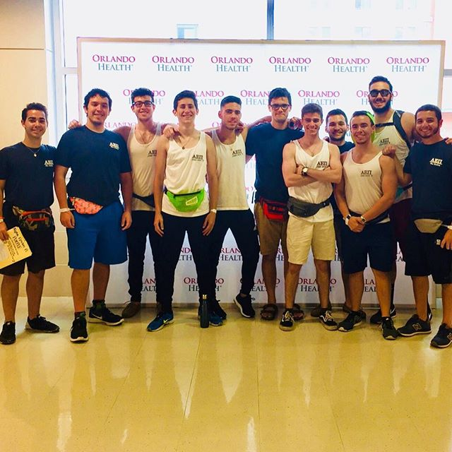 After a long 20 hours of standing, fundraising, and dancing we had a great time at knighthon. Our miracle children Lauren and Maleah were inspirational and will encourage us to always remember how lucky we are. Next year we will raise even more and fight harder for the amazing children a part of the Arnold Palmer Hospital AEPI is FTK! #FTK4LIFE #CMN #Inspirational