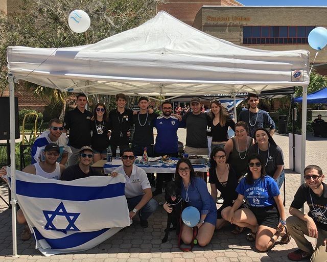 AEΠ, Hillel, and Knights for Israel invite you to celebrate Israel's 70th birthday at the Student Union!! Come out and celebrate with us!!