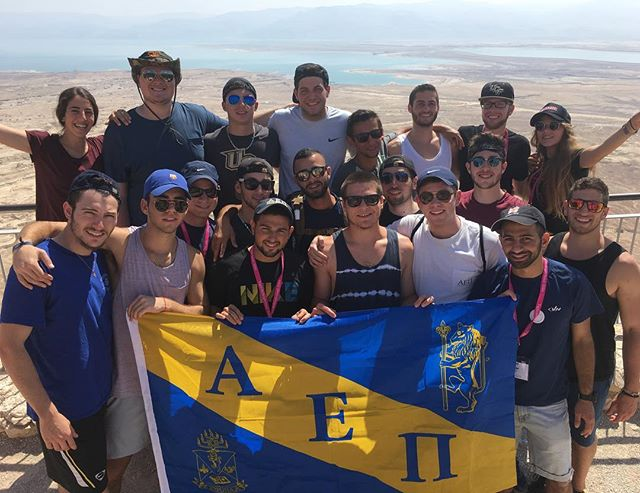 An unforgettable 10 day experience for some of the brothers in Israel, shout out to @ucfhillel