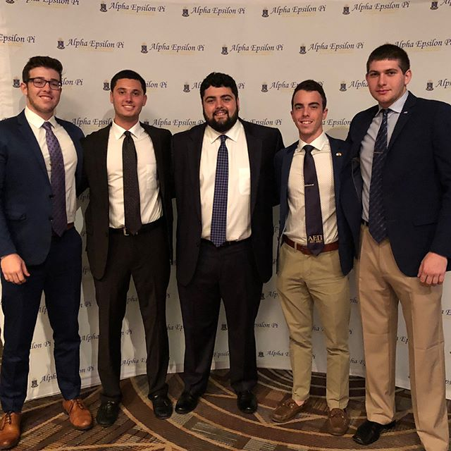 Today we welcome back our brothers from AEΠs 105th annual international convention in Phoenix Arizona where they got to expand their knowledge on organizational values and meet brothers from chapters all around the world.