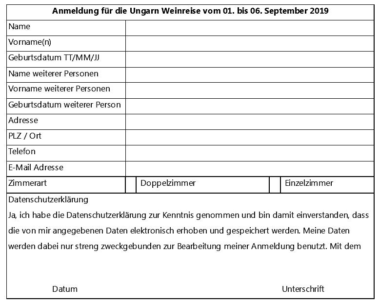 KONTAKT UND BUCHUNG: TS HUNGAROVIN GMBH, Alte Strasse 1, 9620 Lichtensteig  e-mail:  info@tshungarovin.ch  Telefon: 071 230 0909