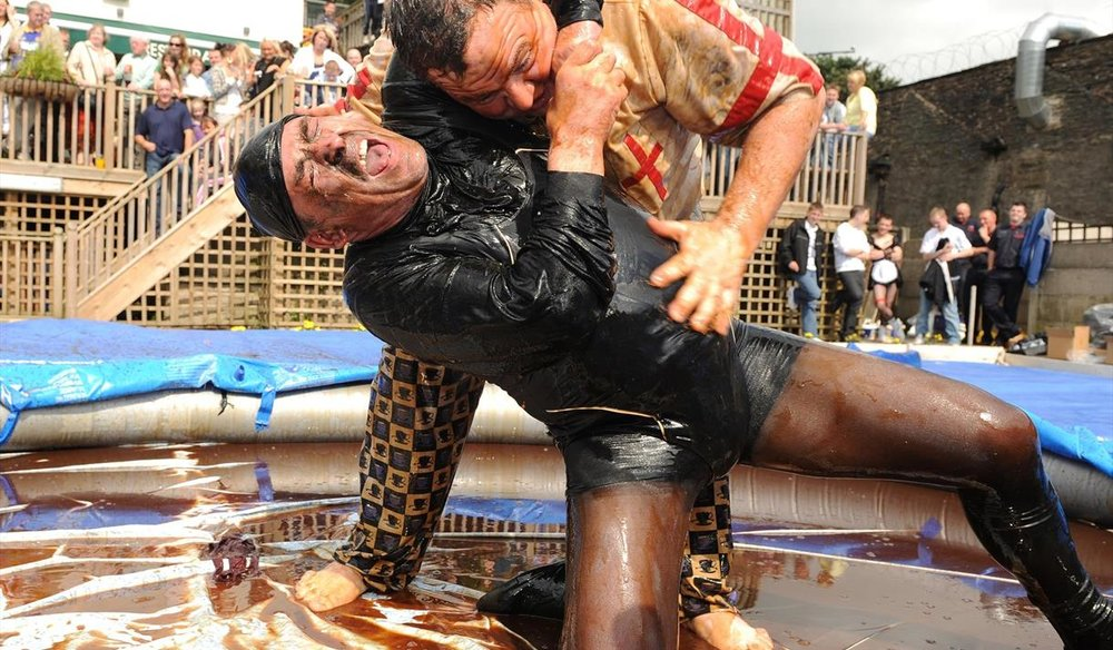 Annual World Gravy Wrestling Championships Rossendale - Coming August 2019https://worldgravywrestling.com/