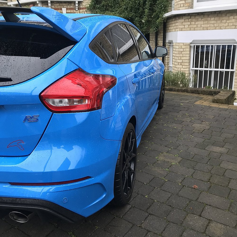 Ford Focus Rs MK2 detailing