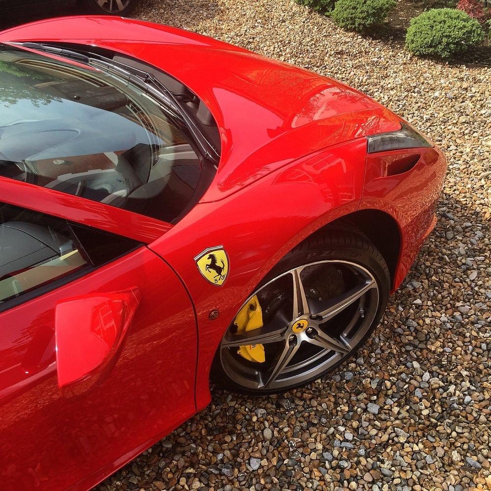 Ferrari detailing 458 spider