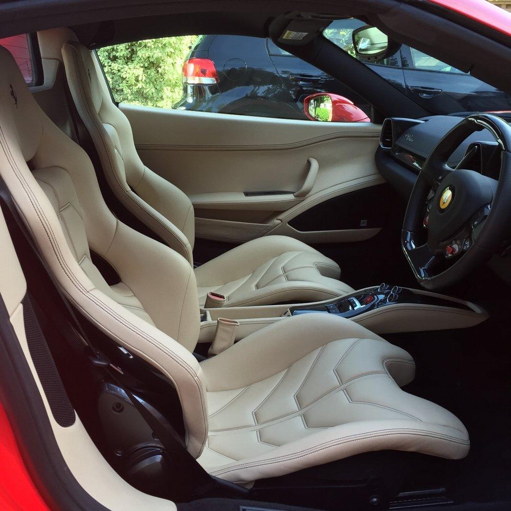 LA Ferrari detailing