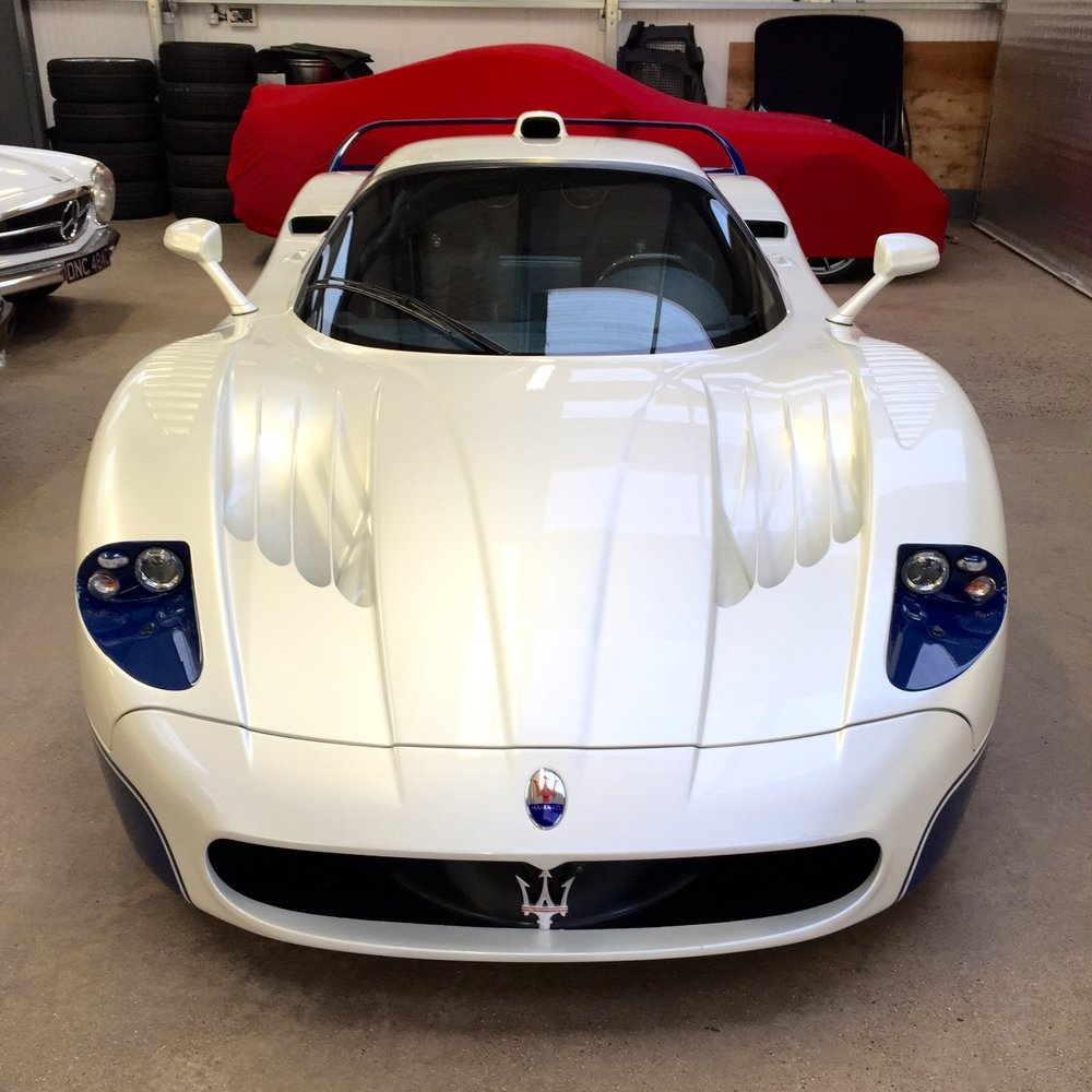 Maserati MC12 detailed paint protected paint corrected cleaned