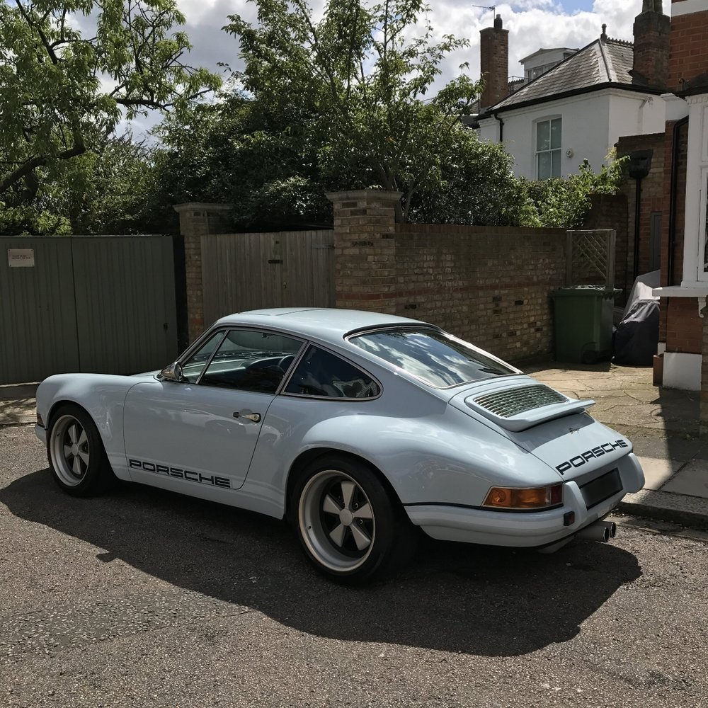 porsche 911 Singer 1991 detailed paint protected paint corrected cleaned