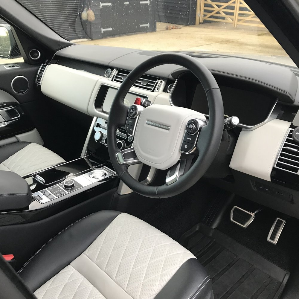 Range Rover SV autobiography detailed paint protected paint corrected cleaned