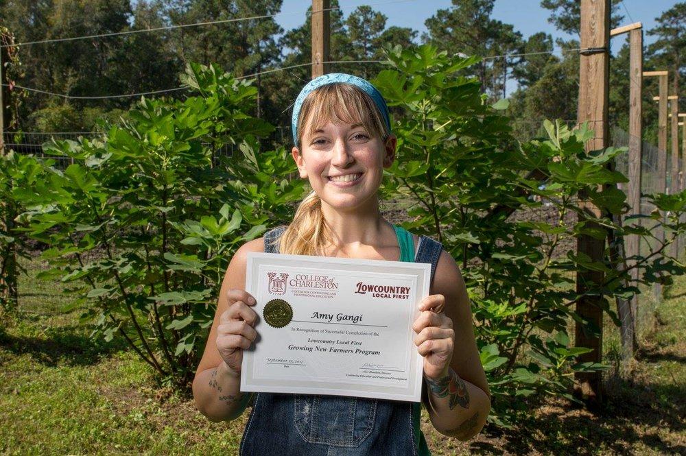 Amy Gangi - Growing New Farmers Program 2017