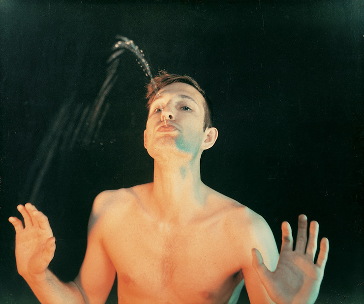 Bruce Nauman - Self Portrait as a Fountain